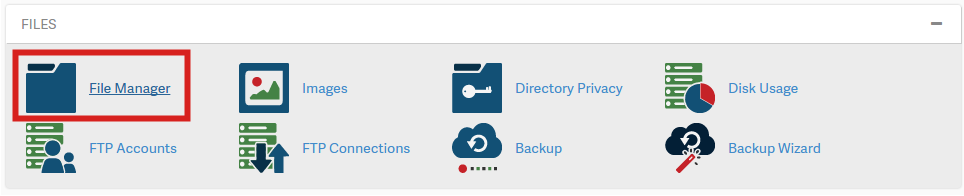 File Manager  Documentation  cPanel Documentation