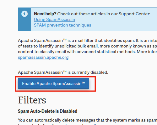spam-enable