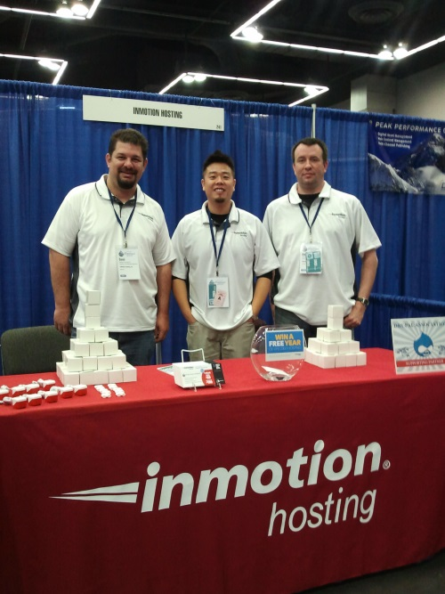 The InMotion crew at DrupalCon 2013!