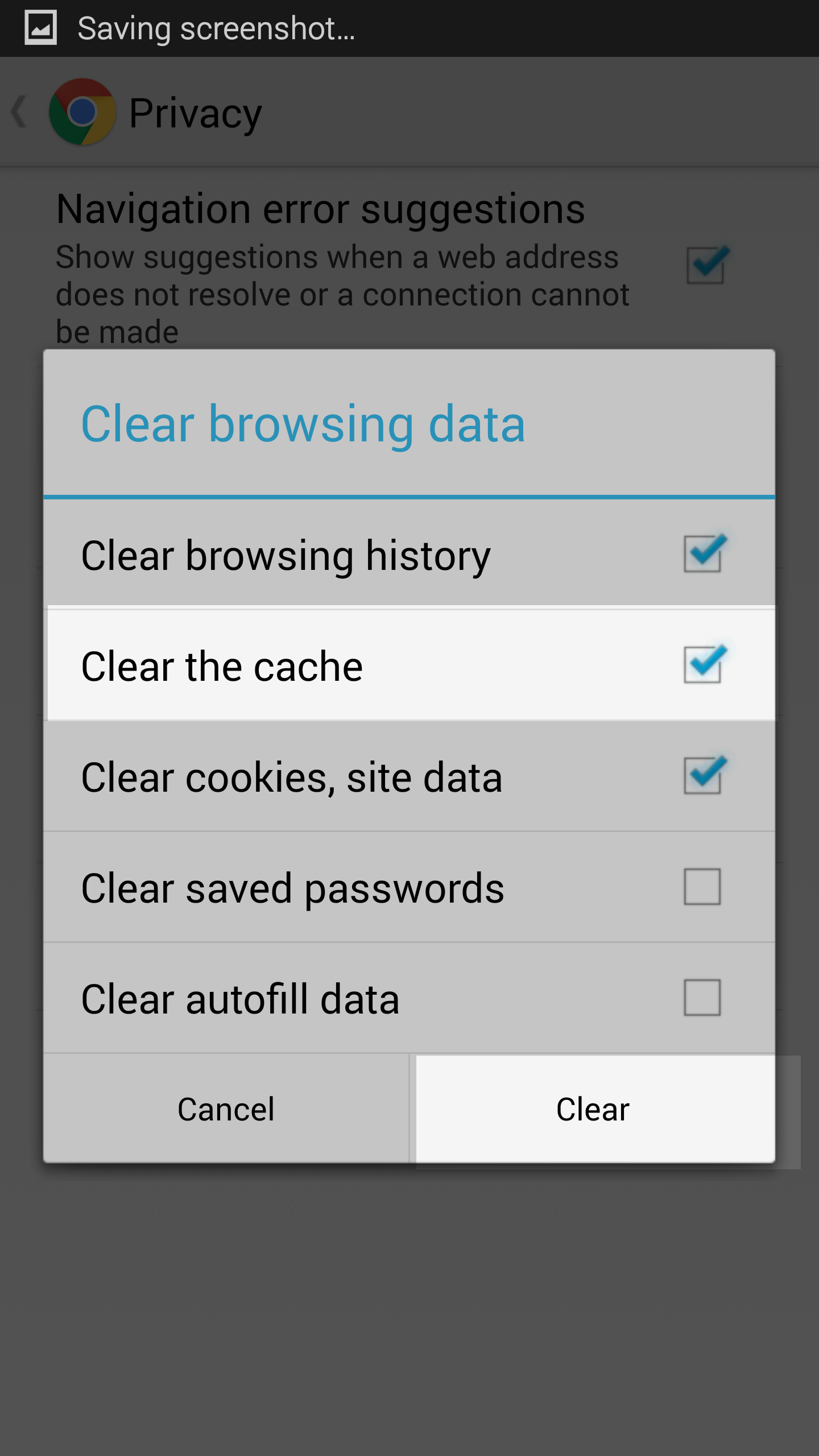 Camera How To Clear Browser On Android Phone Clearing Your Chrome Browser  On Android Phone Inmotion