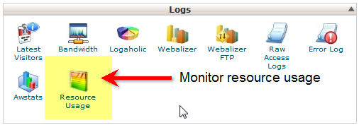 Resource Usage icon