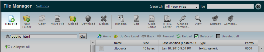 select edit file icon