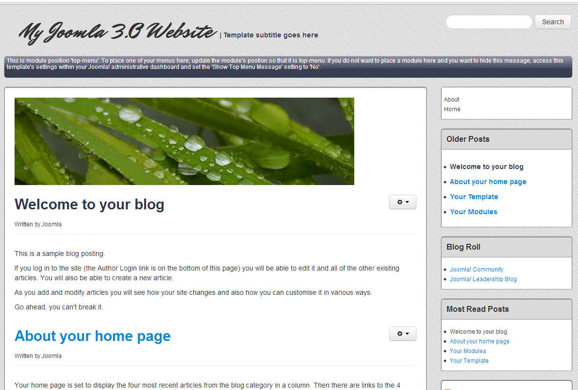 imh-blog-template