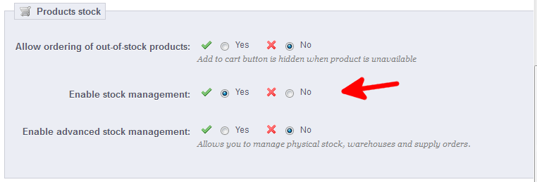 preferences-products-enable-stock-management
