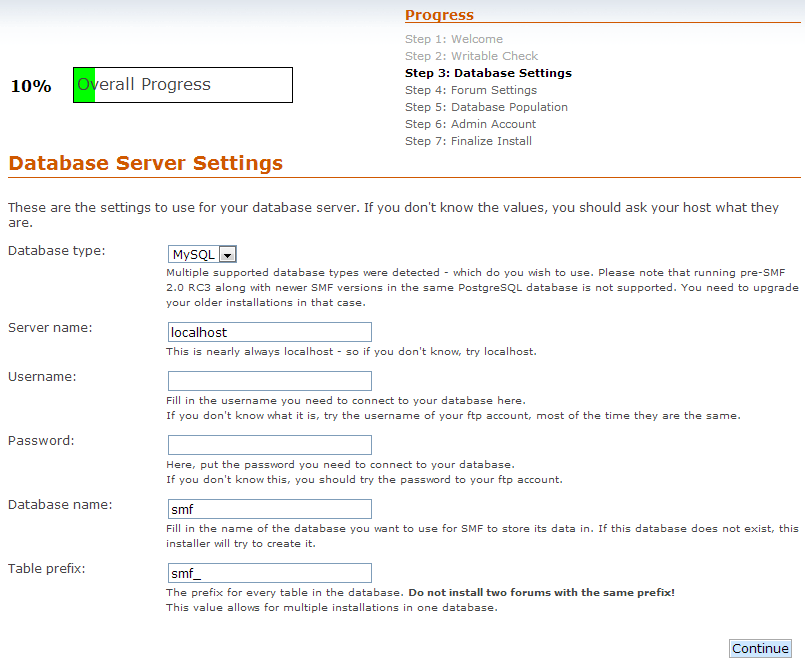 7-database-settings