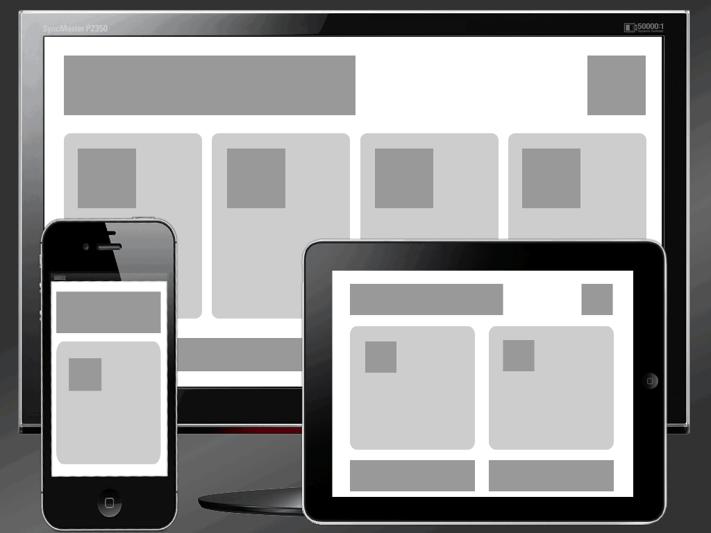 Responsive Template Graphic