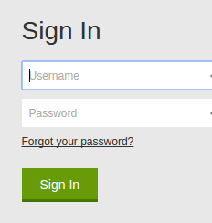 Log into GoDaddy account