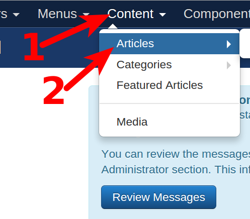 joomla reorder articles in category