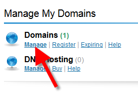 administer your domains in inmotion store