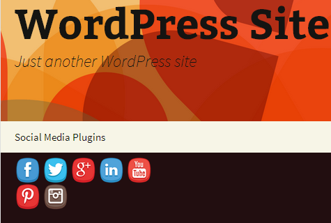 wordpress social media plugin logo